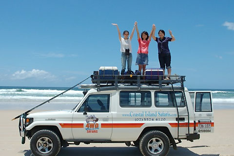 Paket 4WD Beach Safari - Full Day Tour Incl Lunch