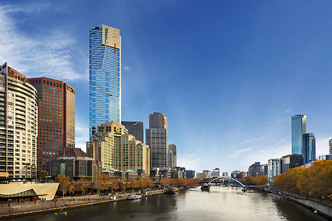 Paket Melbourne Morning City Sights, Cruise & Eureka Tower
