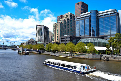 Paket Magnificent Melbourne City Tour & River Cruise