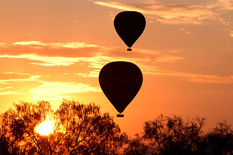 Paket Outback Ballooning - 30 Min Balloon Flight