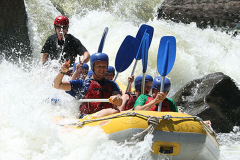 Paket Half Day Barron River White Water Rafting ex Cairns