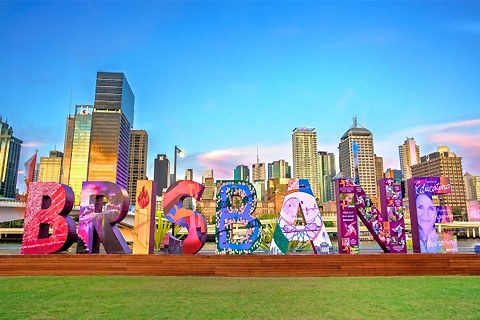 Paket City Sights, River Cruise & the Whell of Brisbane