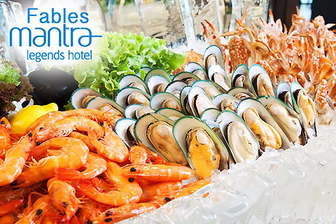 Paket Mantra Legends Hotel - Fables Restaurant Seafood Buffet
