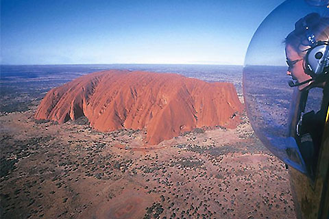 Paket Professional Helicopter Services Flight - Uluru Only