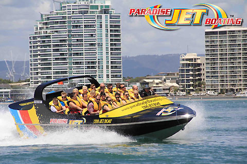 Paket Broadwater Adventure Jet Boat Ride