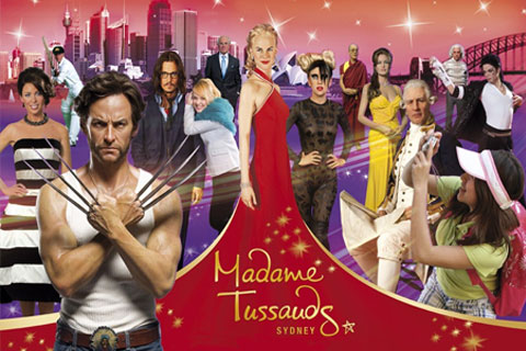 Paket Admission Ticket (Madame Tussauds or The Sydney Tower Eye)