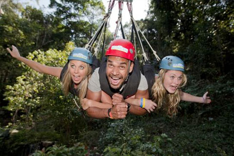 Paket AJ Hackett Cairns Minjin Jungle Swing - Ex Cairns