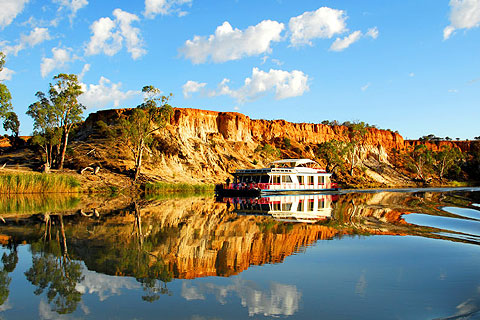 Paket Riverboats on the Murray River