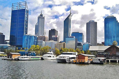 Paket City Highlights, Fremantle, Tram with Swan River Cruise