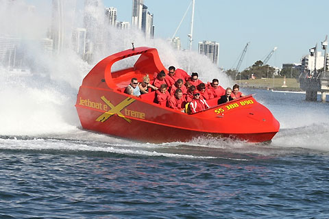 Paket Ultimate Jet Boat Ride - 55 Minute Boat Ride