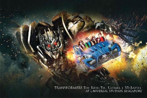 Paket 1 Day Pass Universal Studio Singapore ®