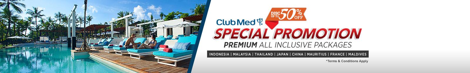 Rekomendasi Liburan Club Med