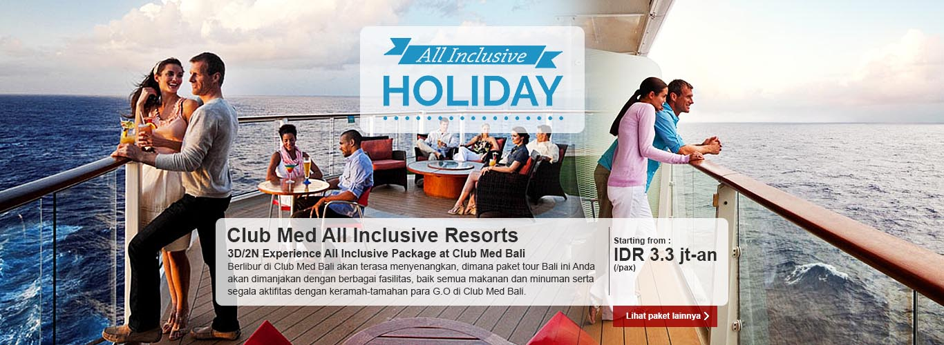 All Inclusive Holiday