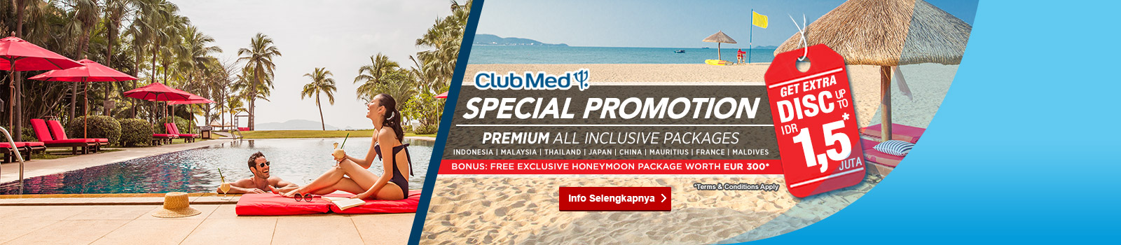 Club Med Premium all-inclusive resorts
