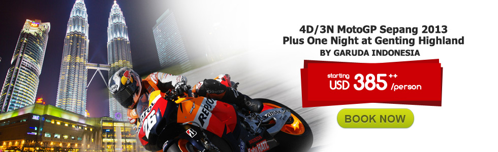MotoGP Sepang 2013 Plus One Night at Genting Highland