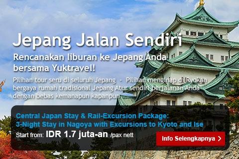<p><p>Pilihan tour seru di seluruh Jepang &nbsp;- &nbsp;Pilihan menginap di Ryokan&nbsp;<span style=line-height: 1.45em; background-color: initial;>bergaya rumah tradisional Jepang Atur sendiri perjalanan Anda&nbsp;</span><span style=line-height: 1.45em; background-color: initial;>dengan bebas kemanapun kapanpun.</span></p></p>