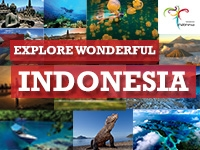 Explore wonderful Indonesia