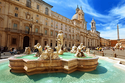 Paket Tour 10D/9N Explore Frankfurt - Amsterdam - Paris - Lucerne - Venice - Rome