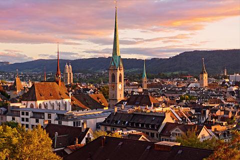 Paket Tour 9D/8N Explore Zurich - Frankfurt - Prague - Bratislava - Budapest - Vienna - Munich - Zurich