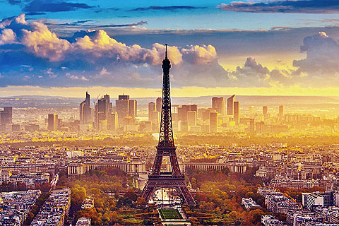 Paket Tour 10D/9N Explore Paris - Luxembourg - Frankfurt - Prague - Budapest - Vienna - Lucerne - Zurich