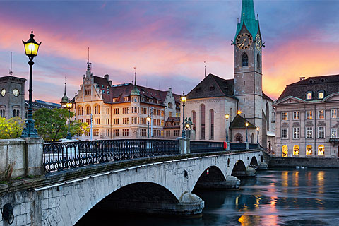 Paket Tour 12D/11N Explore Netherlands - France - Switzerland - Czech - Slovakia - Hungary - Austria - Germany