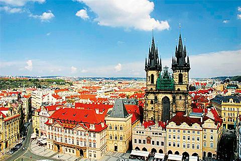 Paket Tour 11D/10N Explore Paris - Luxembourg - Frankfurt - Prague - Budapest - Vienna - Munich