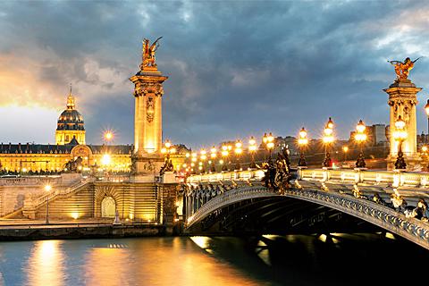 Paket Tour 10D/9N Explore Paris - Zurich - Frankfurt - Prague - Bratislava - Budapest - Vienna