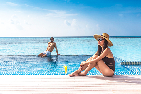 Paket Tour 4D/3N Experience Luxury All Inclusive Package at Club Med Finolhu Maldives