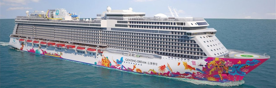 Paket Cruise 3d 2n Genting Dream Wednesday Singapore Malacca Singapore Cruising Yuktravel Com