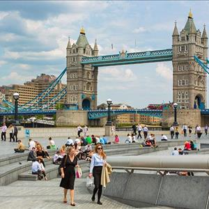 Tower Bridge and Tower of London