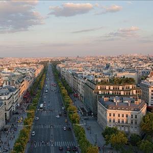 champs-élysées-Paris