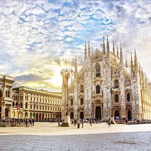 katedral Gothic (Duomo) Milan
