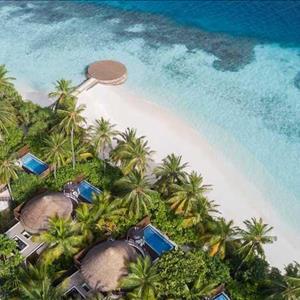 Wonderful Beach Oasis Aerial