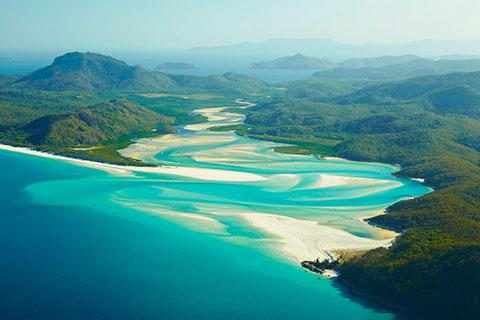 Hasil gambar untuk penerbangan Pulau Hamilton, Australia